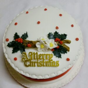 Rich Fruit Christmas Cake 5