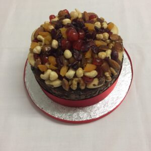 Low Sugar Fruit Cake