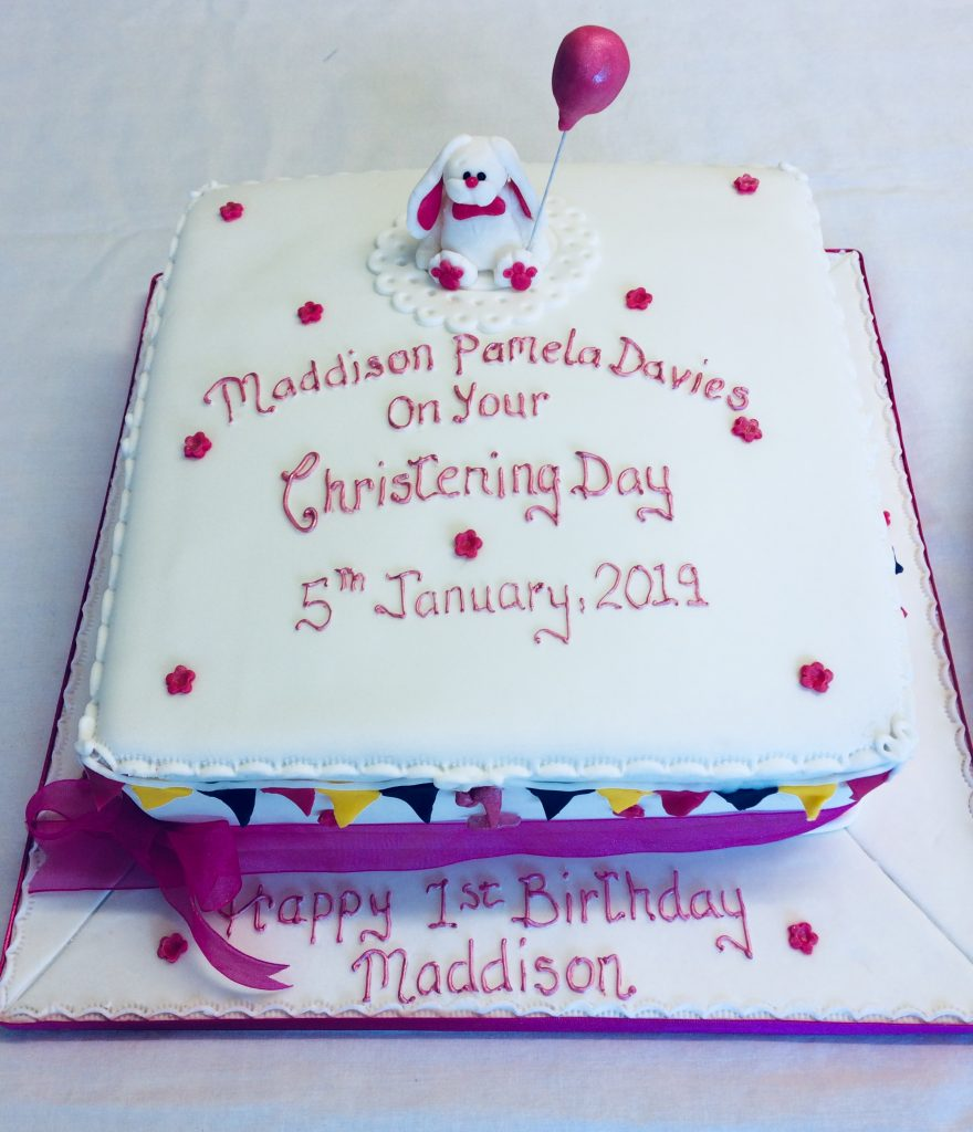 Excellent Christening Cake Dairy Free The Cake Box Personalised Birthday Cards Petedlily Jamesorg