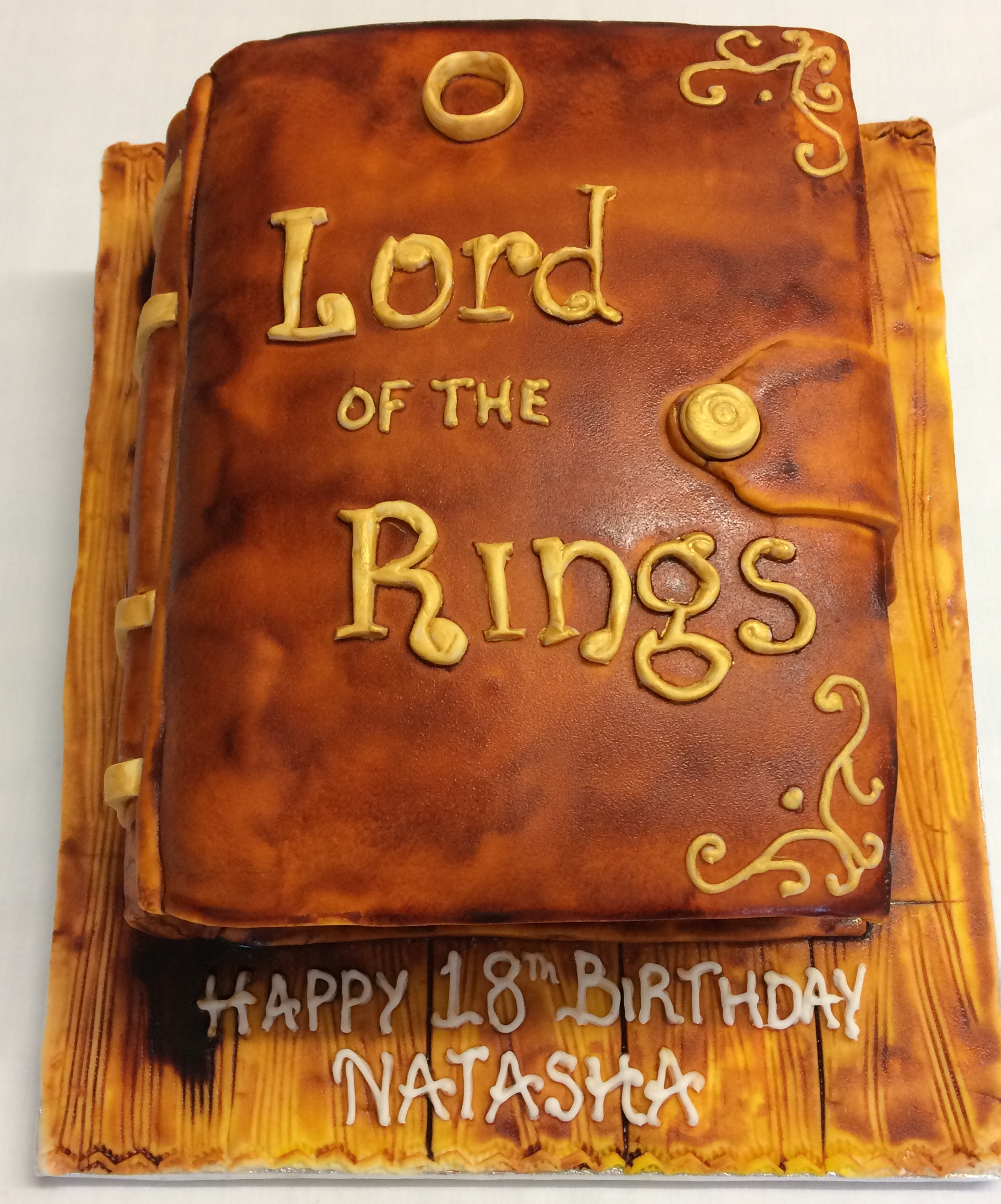 Pleasing Lord Of The Rings Cake The Cake Box Birthday Cards Printable Giouspongecafe Filternl